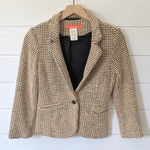 Anthropologie CARTONNIER Knit Blazer XS